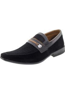 Sapato Masculino Social Preto Bkarellus - 7701