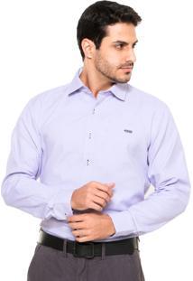 Camisa Mr. Kitsch Texturizada Roxa