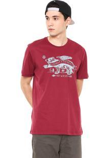 Camiseta Element West Side Vermelha