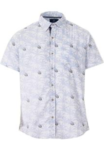 Camisa Masculina Lift Blue - Estampado