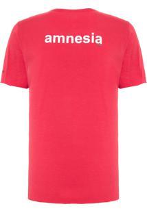 Camiseta Masculina Drinks Reedição - Vermelho