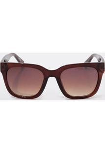 bfc0354d71df2 Óculos De Sol Kit Marrom feminino   Shoelover