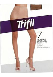 Meia-Calça Feminina Trifil Mel - Feminino-Caramelo