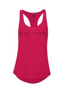 Camiseta Regata Colcci Fitness Cf - Feminina - Rosa Escuro