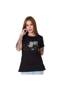 Camiseta Gangsta Bart Preto