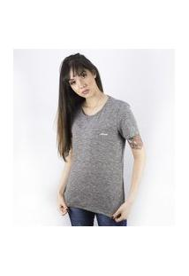 Camiseta Feminina Assinatura Anjuss