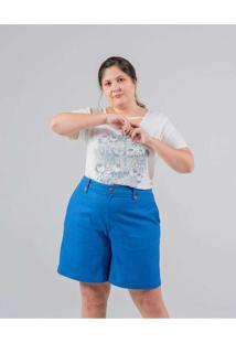 Bermuda Lisa Almaria Plus Size Miss Taylor Bolso F