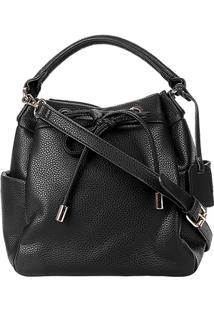 ... Bolsa Shoestock Bucket Floater Feminina - Feminino-Preto 375247994a5