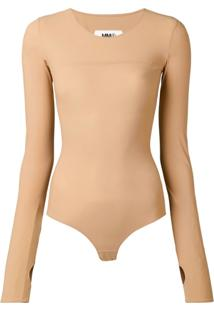 Mm6 Maison Margiela Body Slim - Neutro