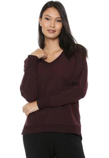 Suéter Liz Easywear Tannat Vinho