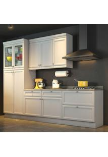 Cozinha Americana Completa - 4 Peças - 500220 - Branco - Nesher