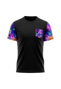 Camiseta Em Algodao Tie Die- Sir.W