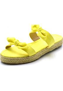 Sandália Stefanello 180138 Amarelo