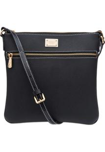 Bolsa Transversal Corello Cross Bag Preto
