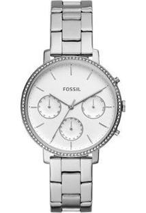 Relógio Fossil Sylvia Feminino - Feminino-Prata