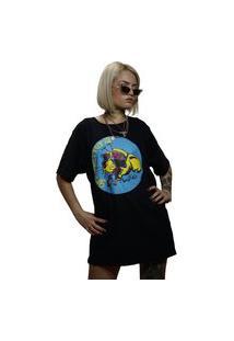 Camiseta Ratosca Preta Preto