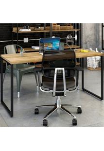 Mesa Para Escritório Kuadra Carvalho 137 - Compace