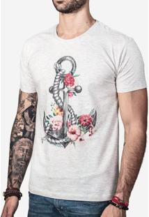 Camiseta Flower Anchor