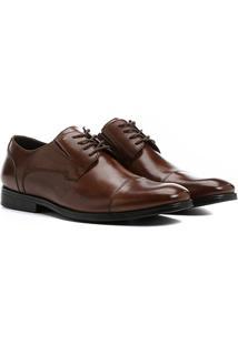 Sapato Social Couro Shoestock Recortes - Masculino