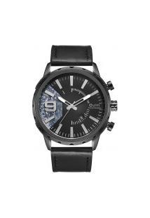 Relógio Masculino Oulm Hp3640 Analógico - Preto