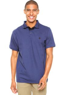 Camisa Polo Timberland Nh Azul