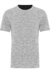 Camiseta Masculina Double Leve - Off White