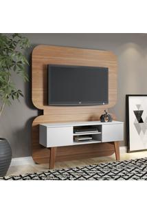 Rack Com Painel Para Tv Completo Trend 12053 Hanover/Branco - Artesano