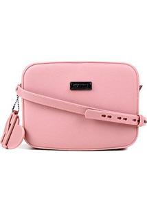 Bolsa Santa Lolla Mini Bag Borracha Feminina - Feminino-Rosa