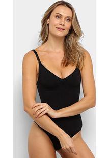 Body Lupo Slim Liso Alças Finas - Feminino