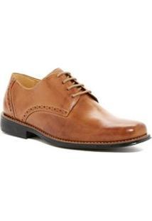 Sapato Social Derby Polo State - Masculino-Marrom Claro