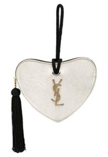 Saint Laurent Clutch Heart - Dourado