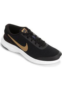 Tênis Nike Flex Experience Rn 7 Feminino - Feminino-Preto+Dourado