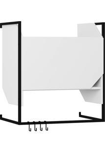 Armário Aéreo Cozinha 63 Cm 1 Porta 1009 Branco - Bentec