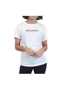 T-Shirt Colcci Off Shell Manga Curta