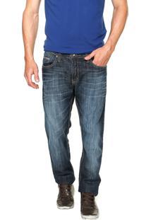 Calça Jeans Colcci Rodrigo Estonada Azul