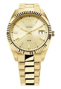 Relógio Technos Riviera Dourado 2415Ch/4X 2415Ch/4X