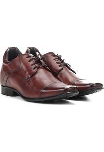 Sapato Social Couro Rafarillo Alth - Masculino-Marrom Escuro