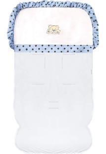 Capa De Carrinho Padroeira Baby Família Urso Azul