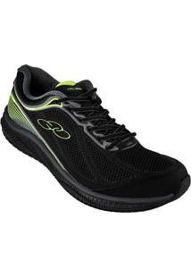 Tenis Running Preto Actual Olympikus 59209016