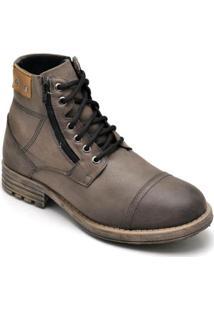 Bota Couro D&R Shoes Masculina - Masculino