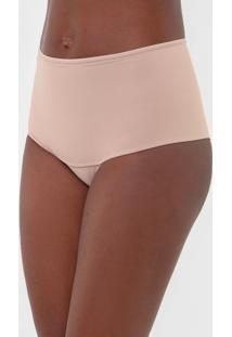 Calcinha Dilady Hot Pant Ultra Shape Bege - Bege - Feminino - Poliamida - Dafiti
