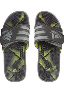 Chinelo Adidas Performance Adissage Graphic Cinza