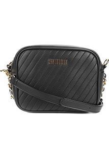 Bolsa Santa Lolla Mini Bag Transversal Feminina - Feminino-Preto 86d452293eb