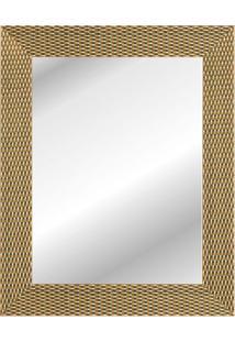 Espelho Corrente 47X37Cm Dourado