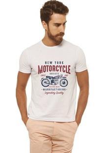 Camiseta Joss - New York - Masculina - Masculino-Branco