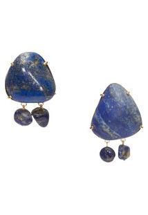 Brinco Feminino Lazuli G - Azul
