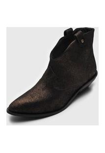 Ankle Boot Dumond Western Cobre