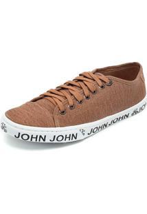 Tênis John John Heaven Stoned Caramelo
