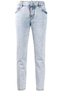 Dsquared2 Calça Jeans Reta - Azul