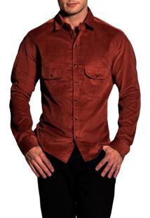 Camisa R.Mendes Veludo Bourbon